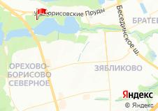 Футбольное поле на Борисовских прудах